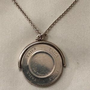 💥💎Tiffany and co coin flip pendant 💎💥